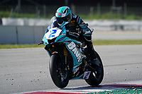 30th March 2021; Barcelona, Spain; Superbikes, WorldSSP600 , day 2 testing at Circuit Barcelona-Catalunya;   l. Montella riding Yamaha YZF R6 from Chiodo Moto Racing