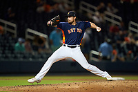 Houston Astros pitcher Blake Taylor (62) during a Major League Spring Training game against the Washington Nationals on March 19, 2021 at The Ballpark of the Palm Beaches in Palm Beach, Florida.  (Mike Janes/Four Seam Images)