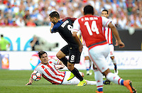 Philadelphia, PA - June 11, 2016: USA forward Clint Dempsey (8) during a Copa America Centenario Group A match between United States (USA) and Paraguay (PAR) at Lincoln Financial Field.