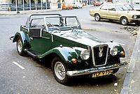Car: Spartan, kit car.
