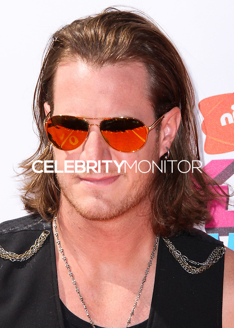 WESTWOOD, LOS ANGELES, CA, USA - JULY 17: Brian Kelley, Florida Georgia Line at the Nickelodeon Kids' Choice Sports Awards 2014 held at UCLA's Pauley Pavilion on July 17, 2014 in Westwood, Los Angeles, California, United States. (Photo by Xavier Collin/Celebrity Monitor)