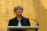 21 March 2016, Jakarta, Indonesia:  Australia's Foreign minister Julie Bishop giving the key address  at the official proceedings at the opening of the new Australian Embassy in Jakarta. The function included traditional welcomes, dancing and speeches from Australian and Indonesian guests. Picture by  Graham Crouch/DFAT