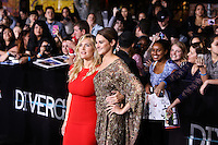 """WESTWOOD, LOS ANGELES, CA, USA - MARCH 18: Kate Winslet, Shailene Woodley at the World Premiere Of Summit Entertainment's """"Divergent"""" held at the Regency Bruin Theatre on March 18, 2014 in Westwood, Los Angeles, California, United States. (Photo by Xavier Collin/Celebrity Monitor)"""