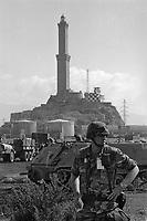 - Genoa, September 1986, landing of the 30th Division of the US National Guard to participate in NATO exercises in Europe<br /> <br /> - Genova, Settembre 1986, sbarco della 30a Divisione della Guardia Nazionale USA per partecipare ad esercitazioni NATO in Europa
