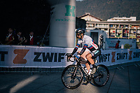 defending triple World Champion Peter Sagan (SVK/Bora-Hansgrohe) before the start<br /> <br />  MEN ELITE ROAD RACE<br /> Kufstein to Innsbruck: 258.5 km<br /> <br /> UCI 2018 Road World Championships<br /> Innsbruck - Tirol / Austria
