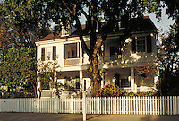 The Audubon House, built in 1830 by Capt. John H. Geiger and occupied by James Audubon in 1832. architecture, landmarks. Key West Florida, Florida Keys.