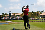 DORAL, FL. - Tiger Woods during final round play at the 2009 World Golf Championships CA Championship at Doral Golf Resort and Spa in Doral, FL. on March 15, 2009