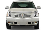 Straight front view of a 2009 Cadillac Escalade Hybrid