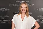 Actress and producer Carolina Bang poses during `Los heroes del mal´ film presentation in Madrid, Spain. September 09, 2015. (ALTERPHOTOS/Victor Blanco)