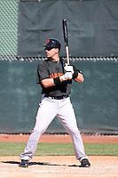 Travis Ishikawa, San Francisco Giants 2010 minor league spring training..Photo by:  Bill Mitchell/Four Seam Images.