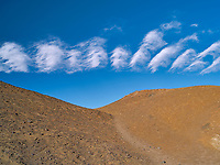 Unusual clouds over Death Valley National Park, California.