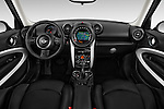 Stock photo of straight dashboard view of a 2015 MINI Paceman Cooper 3 Door Hatchback Dashboard