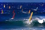 WIND SURFING near SANTA CRUZ - CALIFORNIA