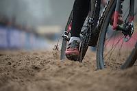 sand pit<br /> <br /> 2016 CX UCI World Cup Zeven (DEU)