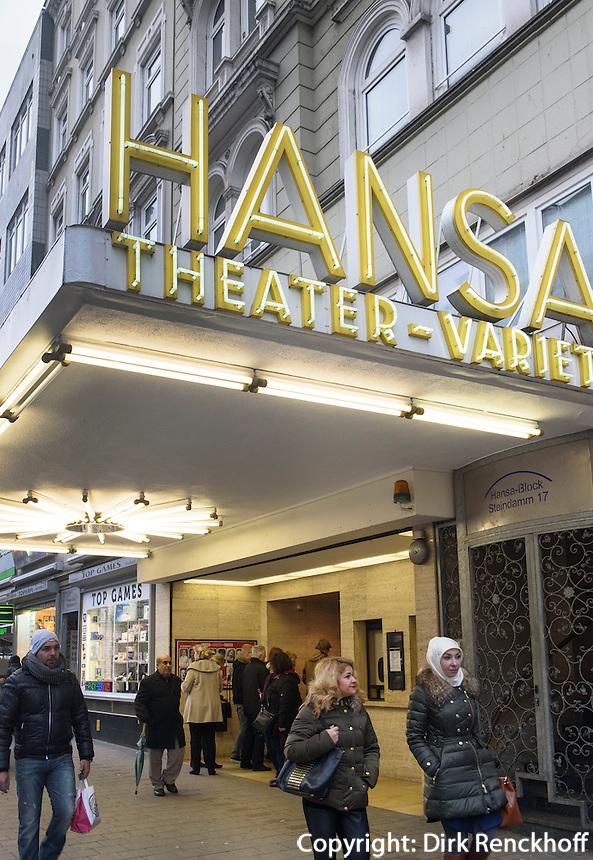 Hansa Theater, Steindamm 17, Hamburg, Deutschland