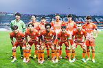 Jeju United FC4 squad pose for team photo during the AFC Champions League 2017 Group H match Between Jeju United FC (KOR) vs Gamba Osaka (JPN) at the Jeju World Cup Stadium on 09 May 2017 in Jeju, South Korea. Photo by Marcio Rodrigo Machado / Power Sport Images