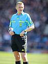 Referee Brian Colvin.