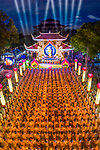 Thousands take part in candlelit ceremony by Trung Anh