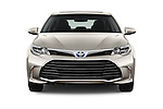 Car photography straight front view of a 2018 Toyota Avalon XLE Premium 4 Door Sedan Front View