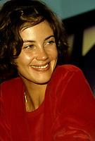 Anne Roussel<br /> au Festival des Films du Monde 1988 (date exacte inconnue)<br /> <br /> PHOTO : Agence Quebec Presse