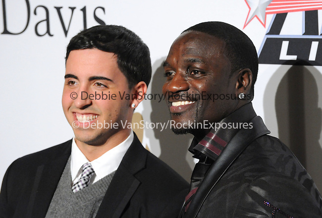 Akon & Colby O'Donis at The Clive Davis / Recording Academy Annual Pre- Grammy Party held at The Beverly Hilton Hotel in Beverly Hills, California on February 07,2009                                                                     Copyright 2009 Debbie VanStory/RockinExposures