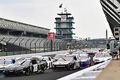 #18: Riley Herbst, Joe Gibbs Racing, Toyota Supra Monster Energy and #93: Myatt Snider, RSS Racing, Chevrolet Camaro Louisiana Hot Sauce