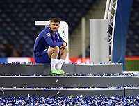 Porto, Portugal, 29th May 2021. Mason Mount of Chelsea at the final whistle during the UEFA Champions League match at the Estadio do Dragao, Porto. Picture credit should read: David Klein / Sportimage PUBLICATIONxNOTxINxUK SPI-1071-0305 <br /> Oporto 29/05/2021 <br /> Champions League Final <br /> Manchester City Vs Chelsea <br /> Photo Imago/Insidefoto <br /> ITALY ONLY