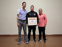 Oceanside, CA - June 25, 2019: U.S. Soccer Development Academy Girl's awards and meeting.