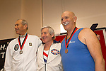The Crash-B World Indoor Rowing Championships, Veteran Men (Age 70-74), Michael Wrenn, Team GB, 1st, Madotto Francesco, Circolo Canottieri Aniene, 2nd, Lowell Caylor, Greenville Indoor Rowing, 3rd, 2012, Boston, Massachusetts, All athletes compete annually on a Concept2 Indoor Rower for time over 2000 meters,