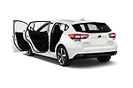 Car images of 2018 Subaru Impreza Premium 5 Door Hatchback Doors