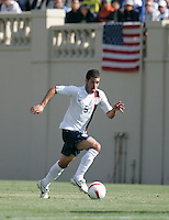 Benny Feilhaber runs with the ball. The USA defeated China, 4-1, in an international friendly at Spartan Stadium, San Jose, CA on June 2, 2007.