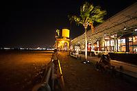 Estação das Docas início da noite com poucos frequentadores.<br /> Belém, Pará, Brasil.<br /> Foto Paulo Santos<br /> 11/2014