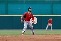 Springfield Cardinals Kramer Robertson (3) during a Texas League game against the Frisco RoughRiders on May 6, 2019 at Dr Pepper Ballpark in Frisco, Texas.  (Mike Augustin/Four Seam Images)