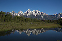 Grand Teton National Park from Schwabacher's Landing