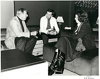 Joe Clark et Maureen McTeer <br /> lors du week end de la Coupe Grey en novembre 1979<br /> <br /> PHOTO :   Agence Quebec Presse
