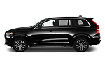 Car Driver side profile view of a 2020 Volvo XC90 Momentum 5 Door SUV Side View