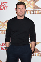 """LONDON, UK. October 09, 2019: Dermot O'Leary at the photocall for """"The X Factor: Celebrity"""", London.<br /> Picture: Steve Vas/Featureflash"""