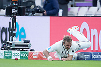 Neil Wagner, New Zealand prevents the boundary during India vs New Zealand, ICC World Test Championship Final Cricket at The Hampshire Bowl on 22nd June 2021