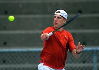 Anton Shepp. 2019 Wellington Tennis Open at Renouf Centre in Wellington, New Zealand on Thursday, 19 December 2019. Photo: Dave Lintott / lintottphoto.co.nz