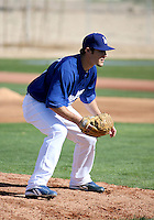 Scott Elbert - Los Angeles Dodgers - 2009 spring training.Photo by:  Bill Mitchell/Four Seam Images