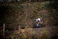 CX World Champion Ceylin del Carmen Alvarado (NED/Alpecin-Fenix) up the infamous Koppenberg<br /> <br /> Koppenbergcross 2020 (BEL)<br /> women's race<br /> <br /> ©kramon