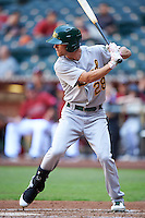 Oakland Athletics Skye Bolt (28) during an Instructional League game against the Arizona Diamondbacks on October 15, 2016 at Chase Field in Phoenix, Arizona.  (Mike Janes/Four Seam Images)