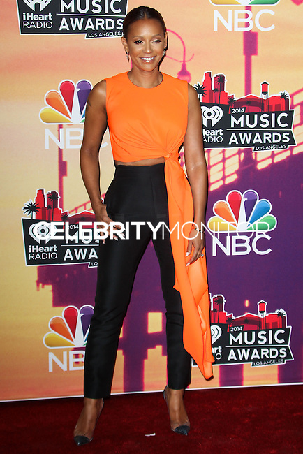 LOS ANGELES, CA, USA - MAY 01: Mel B, Melanie Brown in the press room at the iHeartRadio Music Awards 2014 held at The Shrine Auditorium on May 1, 2014 in Los Angeles, California, United States. (Photo by Celebrity Monitor)
