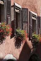 Europe/France/Rhône-Alpes/74/Haute-Savoie/Annecy: Les maisons à arcades de la rue Sainte-Claire