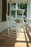 Rocking chairs on porch Waterford Commonwealth of Virginia, Fine Art Photography by Ron Bennett, Fine Art, Fine Art photography, Art Photography, Copyright RonBennettPhotography.com ©