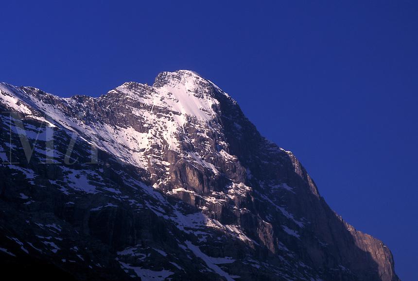 Eiger, Switzerland, North Face, Grindenwald, Berne, Bern, Bernese Alps, summit, mountain, Bernese Oberland.