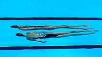 PAPAZOGLOU - PLATANIOTI Greece GRE<br /> Gwangju South Korea 12/07/2019<br /> Artistic Swimming Duet Technical Preliminaries<br /> 18th FINA World Aquatics Championships<br /> Yeomju Gymnasium <br /> Photo © Giorgio Scala / Deepbluemedia / Insidefoto
