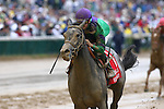 1 May 2010: Buckleupbuttercup and Julien Leparoux win the Eight Belles Stakes at Churchill Downs, Louisville, KY.