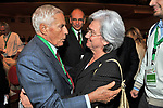 FRANCO MARINI CON ROSI BINDI<br /> ASSEMBLEA PARTITO DEMOCRATICO - HOTEL MARRIOT ROMA 2009