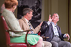 """June 5, 2015; Marty Ogren shares his memories of Fr. Hesburgh at the """"Stories of Father Ted"""" panel discussion, Reunion 2015. (Photo by Matt Cashore/University of Notre Dame)"""